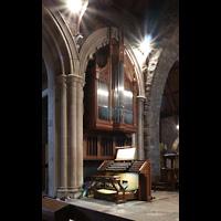 Scarsdale (NY), St. James the Less Episcopal Church, Orgel (Teil) mit Spieltisch