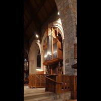 Scarsdale (NY), St. James the Less Episcopal Church, Hauptorgel, Epistelseite