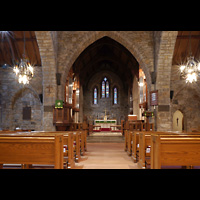 Scarsdale (NY), St. James the Less Episcopal Church, Innenraum in Richtung Chor