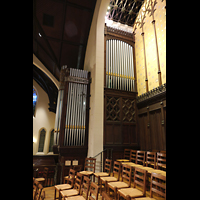 Germantown (PA), First Presbyterian Church, Chancel Organ, linker Teil