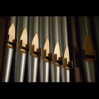 Germantown (PA), First Presbyterian Church, Prospektpfeifen der Chancel Organ