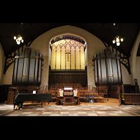 Germantown (PA), First Presbyterian Church, Chancel Organ und Chorraum