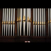 Germantown (PA), First Presbyterian Church, Prospektpfeifen der Gallery Organ