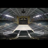 Atlantic City (NJ), Boardwalk Hall (''Convention Hall''), Blick von der gegenüberliegenden Tribühne zur Orgel