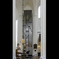 Malmö, S:t Petri Kyrka, Chororgel im Chorraum