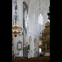 Malmö, S:t Petri Kyrka, Chororgel und Altarraum