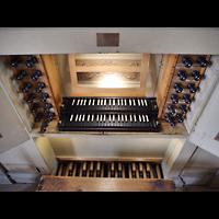 Rötha, St. Georgen, Spieltisch von oben