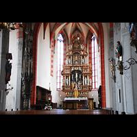 Ochsenfurt, St. Andreas, Chor mit Hochaltar
