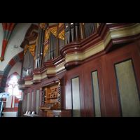 Ochsenfurt, St. Andreas, Orgel mit Spieltisch
