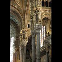 Lyon, Notre-Dame de Fourvière, Seitenschiff