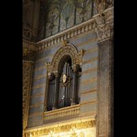 Lyon, Notre-Dame de Fourvière, Orgel-Teilwerk im rechten Chorraum