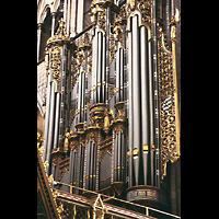 London, Westminster Abbey, Orgel