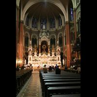 Buenos Aires, Basilica del Santísimo Sacramento, Chor