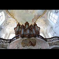 Arlesheim, ehem. Dom, Orgel und Deckengewölbe