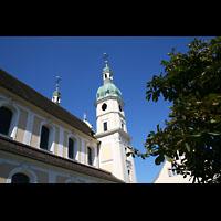 Arlesheim, ehem. Dom, Außenansicht der Kirche