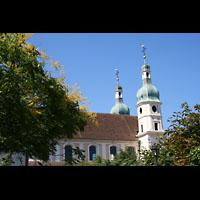 Arlesheim, ehem. Dom, Außenansicht von der Seite