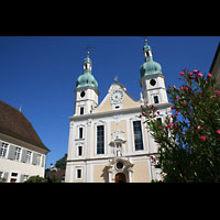 Arlesheim, ehem. Dom, Fassade