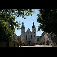 Arlesheim, ehem. Dom, Kirche mit Domplatz