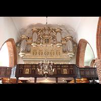 Eckernförde, St. Nicolai, Hauptorgel