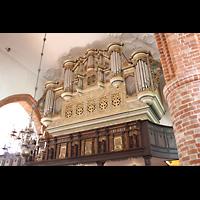 Eckernförde, St. Nicolai, Hauptorgel seitlich