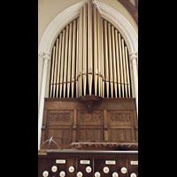 Hanover (PA), St. Matthew's Lutheran Church, Orgelprospekt rechts