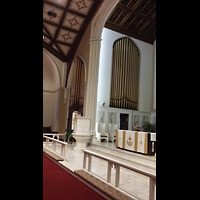 Hanover (PA), St. Matthew's Lutheran Church, Orgel, linke Seite