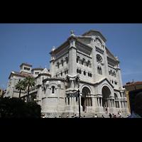 Monaco-Ville, Cathédrale de l'Immaculée-Conception, Außenansicht der Kathedrale