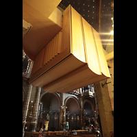 Montserrat, Basílica, Rückpositiv von hinten / unten