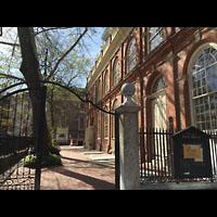 Philadelphia (PA), Christ Church, Eingangsbereich an der Seite