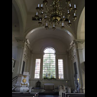 Philadelphia (PA), Christ Church, Altarraum mit Kanzel