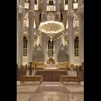 Barcelona, La Sagrada Familia (Chororgel), Chororgel im Altarraum (6 MPix)