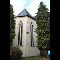 Solms-Oberbiel b. Wetzlar, ehem. Klosterkirche St. Maria und Michael Altenberg, Chor von außen