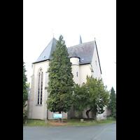 Solms-Oberbiel b. Wetzlar, ehem. Klosterkirche St. Maria und Michael Altenberg, Chor und Querhaus von außen