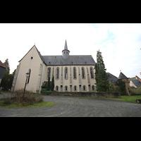 Solms-Oberbiel b. Wetzlar, ehem. Klosterkirche St. Maria und Michael Altenberg, Seitenansicht