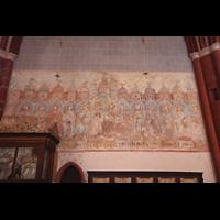 Solms-Oberbiel b. Wetzlar, ehem. Klosterkirche St. Maria und Michael Altenberg, Fresken an der Seitenwand