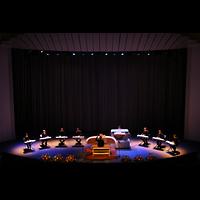 Santa Cruz (Tenerife), Auditorio de Tenerife, Einweihungskonzert mit 9 Organisten
