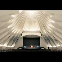 Santa Cruz (Tenerife), Auditorio de Tenerife, Innenraum mit Orgel und mobilem Spieltisch