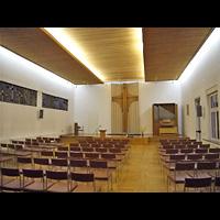 Berlin - Köpenick, Adventkapelle Köpenick (Adventisten), Innenraum
