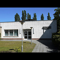 Berlin - Köpenick, Adventkapelle Köpenick (Adventisten), Außenansicht der Kirche