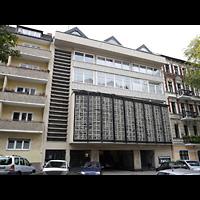 Berlin - Neukölln, Adventisten Neukölln, Außenansicht der Kirche