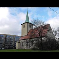 Berlin - Lichtenberg, Alte Pfarrkirche (Dorfkirche Lichtenberg), Außenansicht der Kirche
