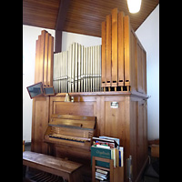 Berlin - Wedding, Augustana-Kirche (SELK), Orgel seitlich