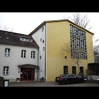 Berlin - Wedding, Augustana-Kirche (SELK), Außenansicht der Kirche
