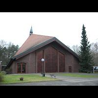 Berlin (Neukölln), Bruder-Klaus-Kirche Britz, Außenansicht der Kirche