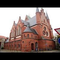 Berlin - Köpenick, Christophoruskirche Friedrichshagen, Außenansicht der Kirche
