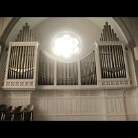 Berlin - Köpenick, Christophoruskirche Friedrichshagen, Orgel, Hauptgehäuse