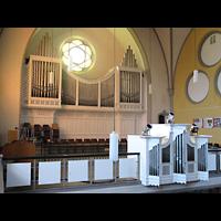 Berlin - Köpenick, Christophoruskirche Friedrichshagen, Orgelempore