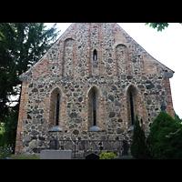 Berlin - Pankow, Dorfkirche Blankenfelde, Fassade