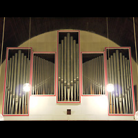 Berlin - Lichtenberg, Dorfkirche Friedrichsfelde, Orgel