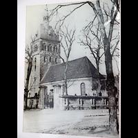 Berlin - Lichtenberg, Dorfkirche Malchow, Ehemalige Dorfkirche Malchow vor der Zerstörung